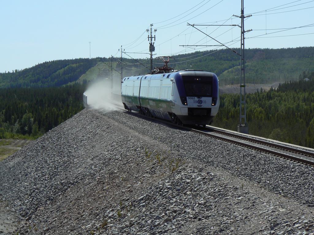 Fransk tag satte hastighetsrekord